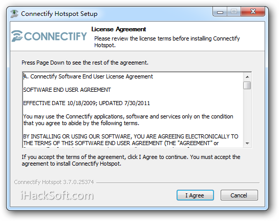 Connectify Pro 3.7