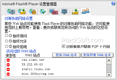 Flash Player P2P